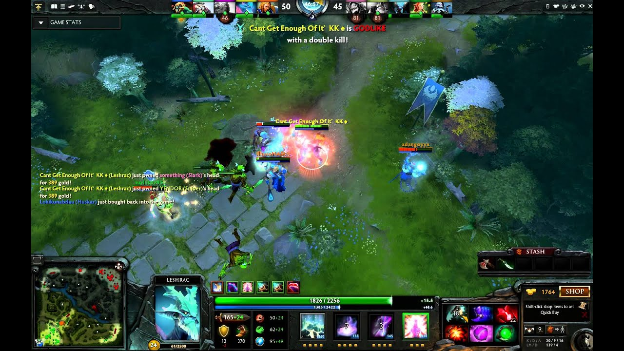 how to play leshrac dota 2