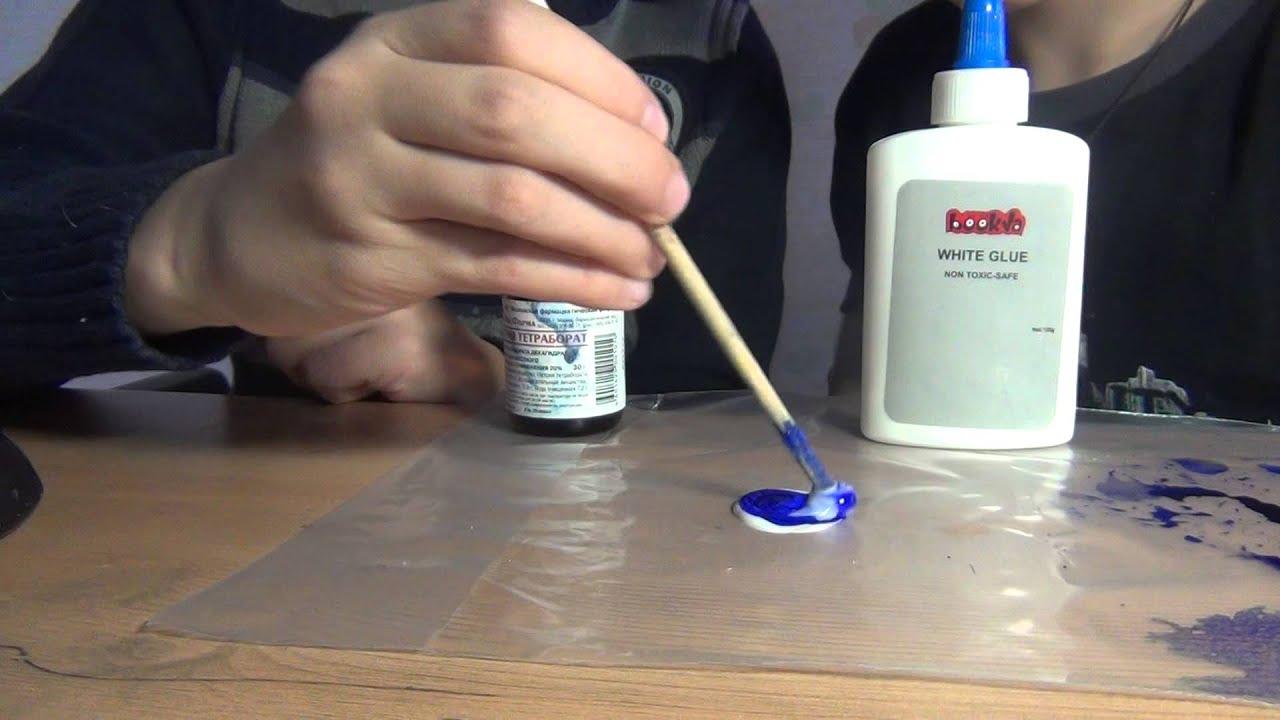 Как сделать лизуна в домашних условиях без тетрабората натрия и буры фото