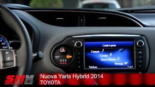 Toyota Yaris Hybrid 2014 Test Drive