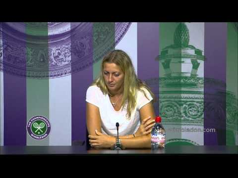 Petra Kvitova: 'it's not going to be easy' in the final - Wimbledon 2014