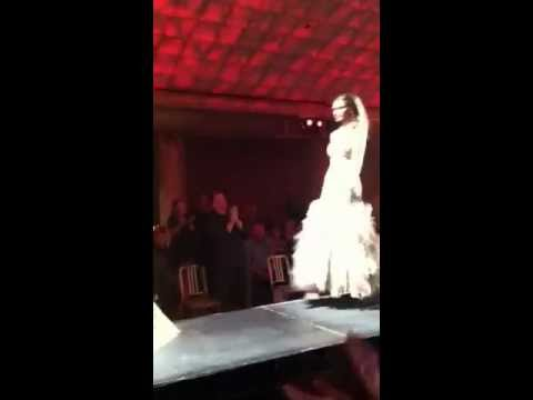 Julie Durocher of Jovani presents collection at CODE Cincinnati's finale event CHASER