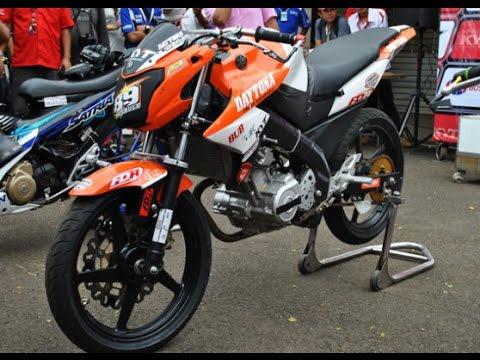 Motor Trend Modifikasi | Video Modifikasi Motor Yamaha New Vixion Lightning Road Race Terbaru
