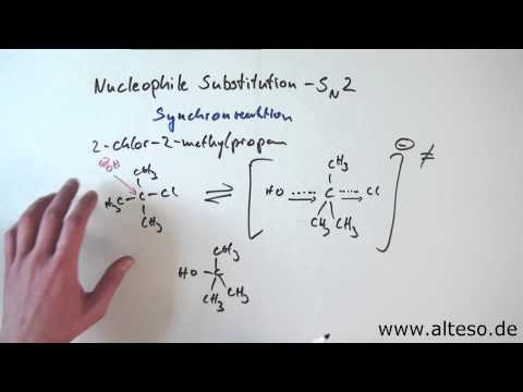 Die Nucleophile Substitution - SN2-Mechanismus [Reaktionsmechanismen Organik]