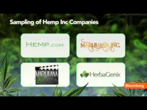 Hemp legalized in USA marijuana stocks