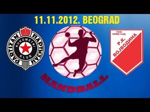RK Partizan – RK Vojvodina (11.11.2012.)