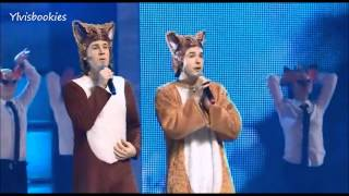 "Ylvis ""The Fox"" At ""The Big Jingle"" Toronto, Canada (07"
