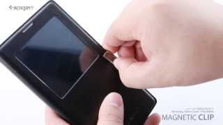 Spigen Magnetic Clip Works With Galaxy Note 3 Samsung S
