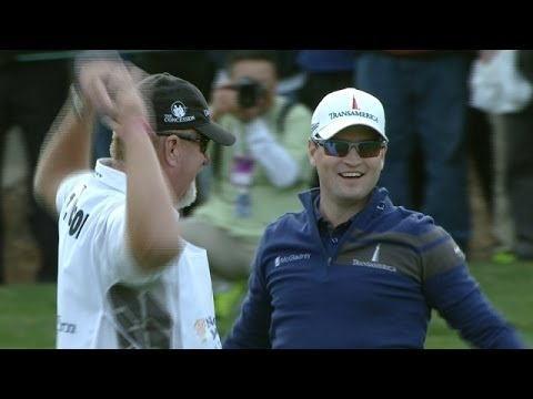 Zach Johnson holes sensational approach shot at World Challenge
