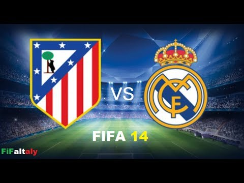 FIFA 14 [PS4] ITA- Atlético Madrid Vs Real Madrid...Il Derby di MADRID!!!