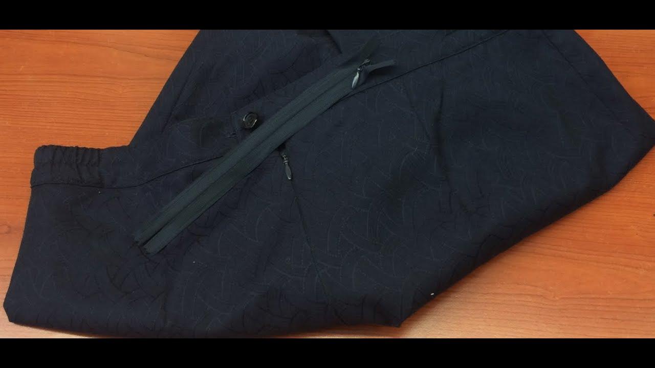 Как в юбку вшить потайную молнию с поясом и без: пошаговая 13
