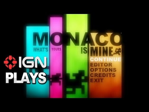 IGN Plays Monaco with Anthony and Mike