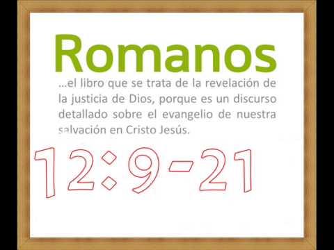 CURSO BIBLICO ROMANOS 12:9-21-ABIEL CABALLERO DE AMOR