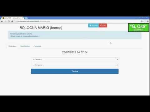 Software presenze JuniorWEB il dipendente inserisce via web la richiesta di ferie / permesso