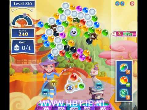 Bubble Witch Saga 2 level 230