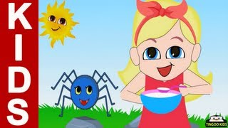 Little Miss Muffet | Kids Songs & Nursery Rhymes In English With Lyrics