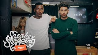 Jerrod Carmichael goes Sneaker Shopping with Complex