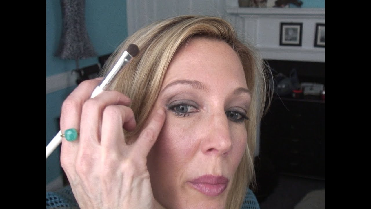 Smokey Eye Tutorial For Women Over 50 With Hooded Crepey