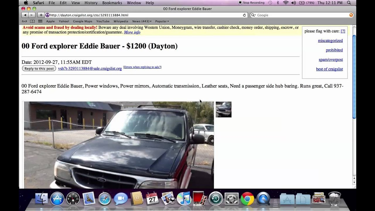 Craigslist Springfield Ohio Used Cars And Trucks Deals