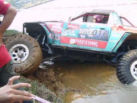 võ thành trung đua xe địa hình tại thác đambri 27-2-2014