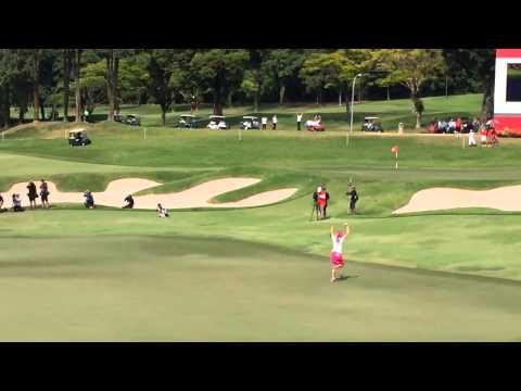HSBC Womens Championship Paula Creamer Victory Putt vs. Aza