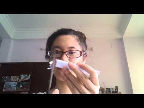 Cách làm rối tay bằng giấy