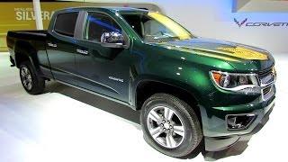 2015 Chevrolet Colorado LT - Exterior and Interior Walkaround - 2014 Toronto Auto Show