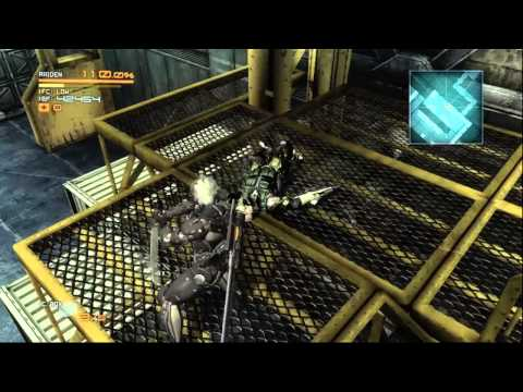 Let's Walkthrough Metal Gear Rising Revengeance Part 8: Mega transformer robot!