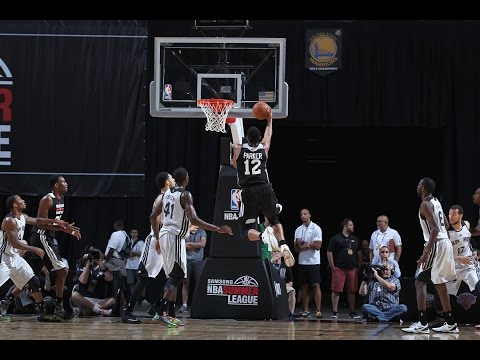Summer League: Milwaukee Bucks vs San Antonio Spurs