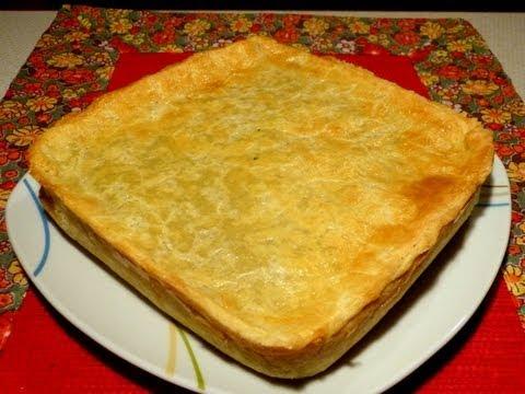 Como fazer torta de frango - Montagem