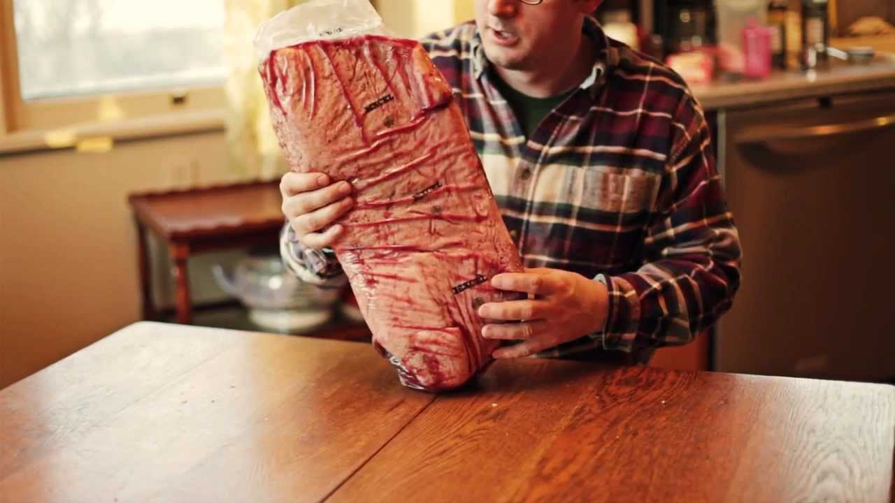 How to Make Home Cured Corned Beef - Part 1 - YouTube