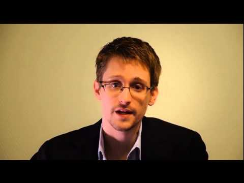 Edward Snowden | Sam Adams Award | Oxford Union