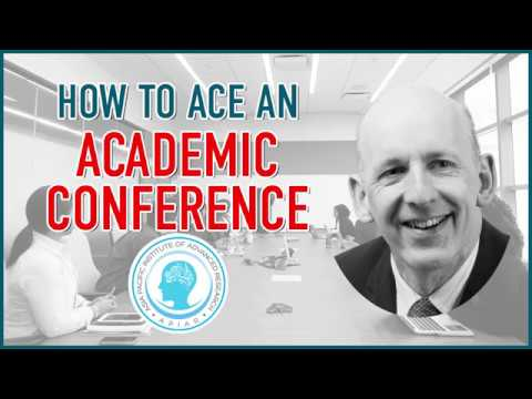 How to Ace an Academic Conference
