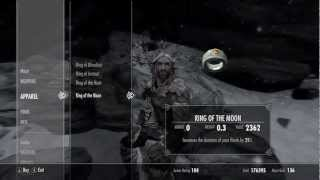 Skyrim: Dragonborn UNIQUE RINGS Rings Of The Werewolf