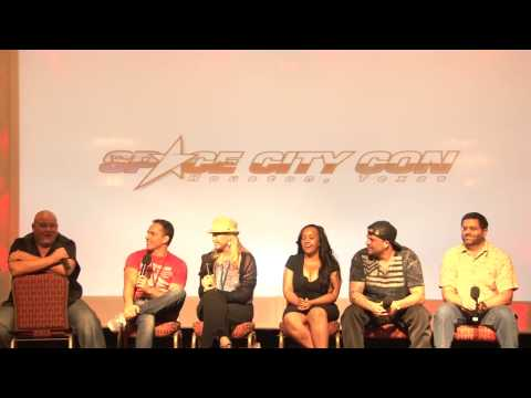 ảnh trong video Power Rangers Power Hour from Space City Con 2013