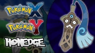 Pokemon X And Y Honedge, The Steel/Ghost Pokemon Revealed!