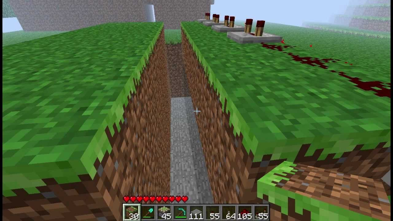 Minecraft How To Build A Retractable Bridghe With Pistons