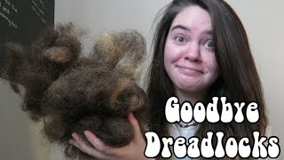 Brushing Out My Dreadlocks!