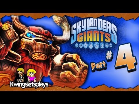 Skylanders Giants - Skylanders Giants Walkthrough Part 4 Cutthroat Carnival (Wii U)