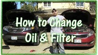 How To Change Oil On KIA Optima And Sorento