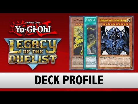 Yu-Gi-Oh! Legacy of the Duelist Deck Profile - Egyptian God's (V1)