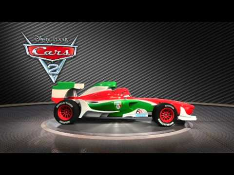 L'Italia al Gran Premio di CARS 2! Francesco Bernoulli turntable