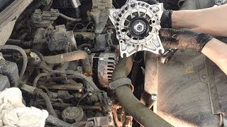 Ford 4.6L & 5.4L Engines Alternator Replacement