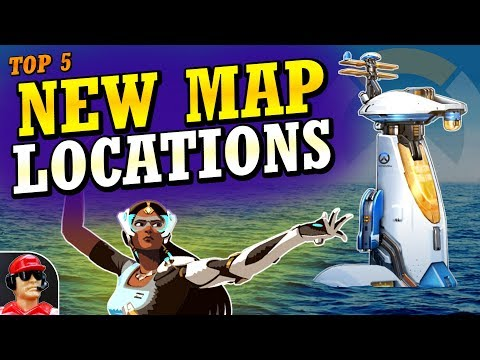 Overwatch - Top 5 Likely NEW MAP Locations!