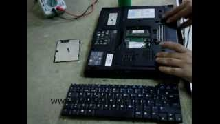 Cambiar teclado de un portatil