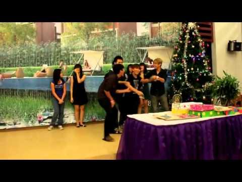 Trường [THCS]&[THPT] Việt Anh - Học sinh Việt Anh tham gia văn nghệ 25/12/2011