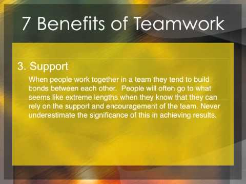 Essay On Teamwork