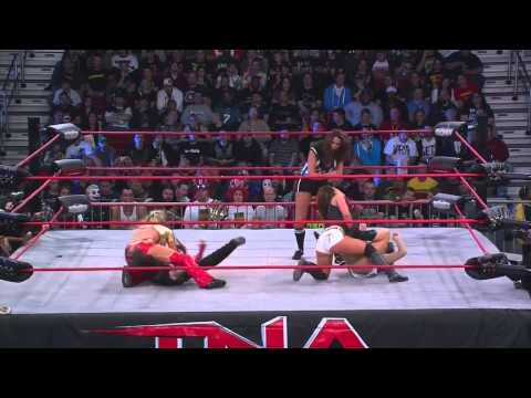 TNA Bound For Glory 2011- Velvet Sky vs Madison Rayne vs Winter vs Mickie James