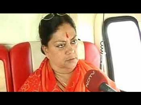 People want Narendra Modi at the Centre: Vasundhara Raje