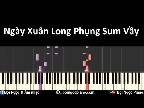 Ngày Xuân Long Phụng Sum Vầy | Piano Tutorial #32 | Bội Ngọc Piano