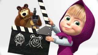 Máša a Medveď - najlepšie zimné epizódy